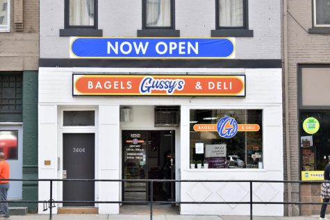 Gussy's Bagels & Deli on Fifth Ave. offers a variety of homemade sandwiches and bagels, from pumpernickel to cinnamon raisin.