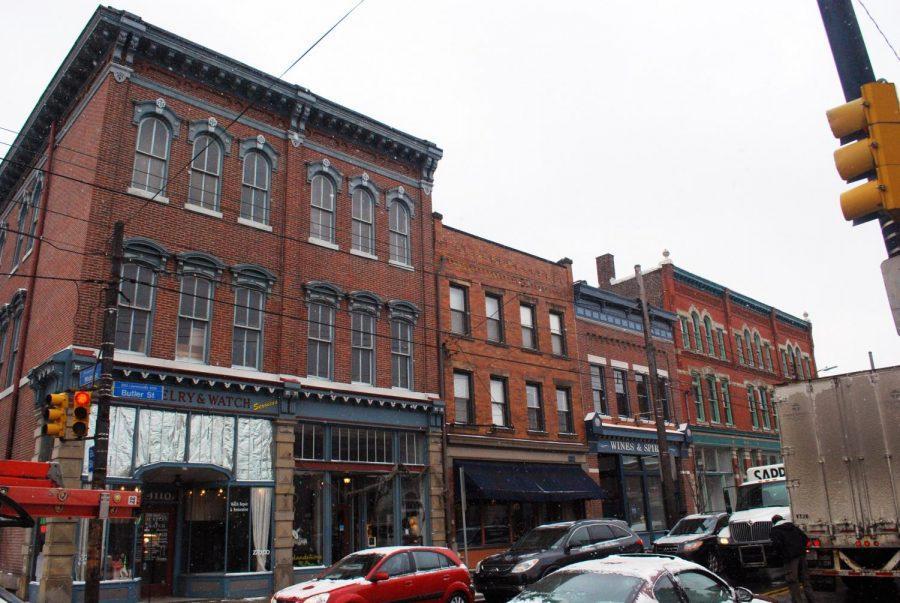 Butler Street in Upper Lawrenceville on Jan. 13, 2012.
