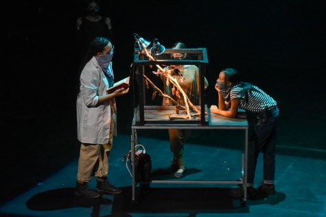 """Pitt Stages debuted Maria Treviño Orta's """"Somewhere"""" at the Charity Randall Theatre on Saturday. The play runs until Oct. 22."""