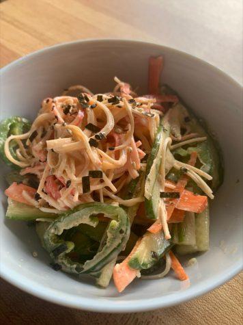 Dorm-life Dining | Kani Salad