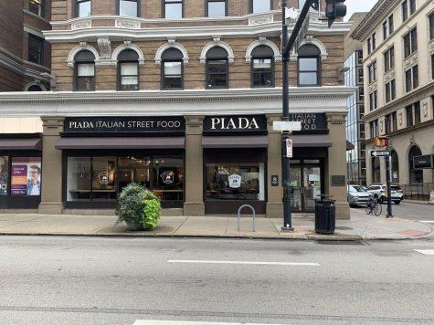 Piada Italian Street Food is located on the corner of Forbes and Meyran Avenues.