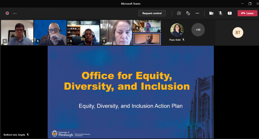 Equity, Diversity and Inclusion Tactical Plan town hall outlines Pitt's diversity goals and strategies