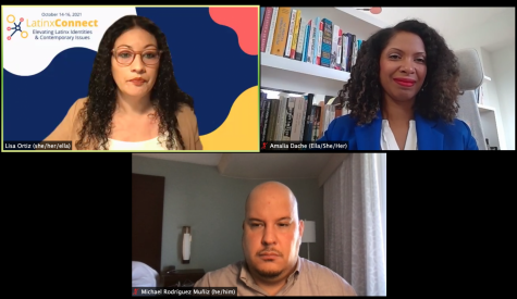 """Sponsored by Pitt's year of data and society, the 2021 Latinx Connect Conference featured the virtual panel """"Latinx Data: Historical Civil Rights Advocacy and Contemporary Intersectional Insights"""" last Friday morning."""