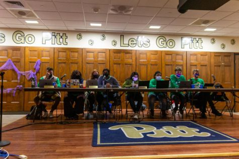 Student Government Board at its weekly meeting in Nordy's Place on Tuesday evening.